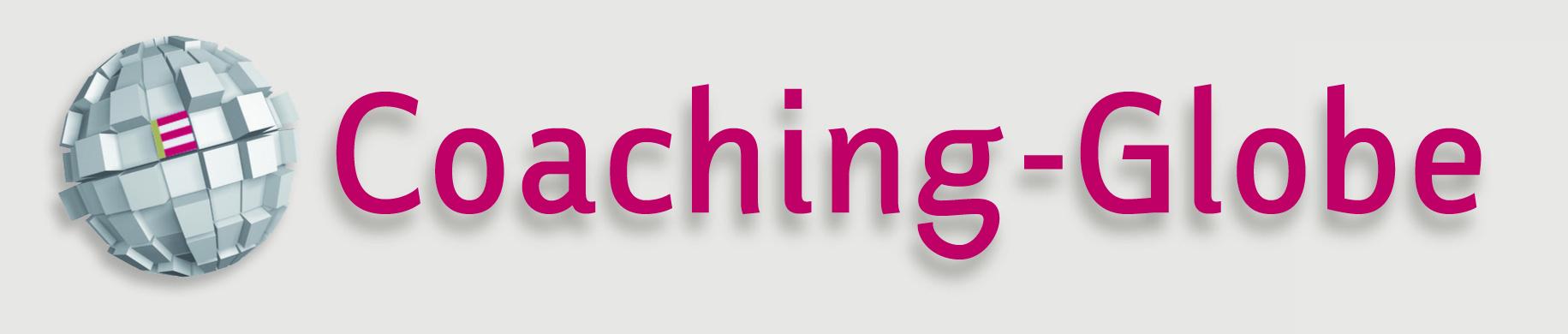 Schriftzug Coaching Globe