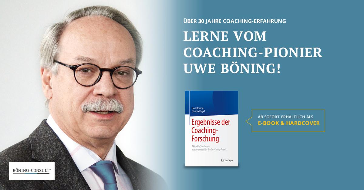 buch banner Ergebnisse der Coaching Forschung