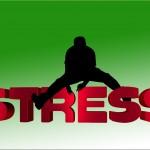 Stress Schriftzug