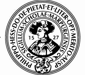 Logo Uni Marburg