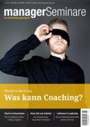 Titelbild Zeitschrift managerSeminare