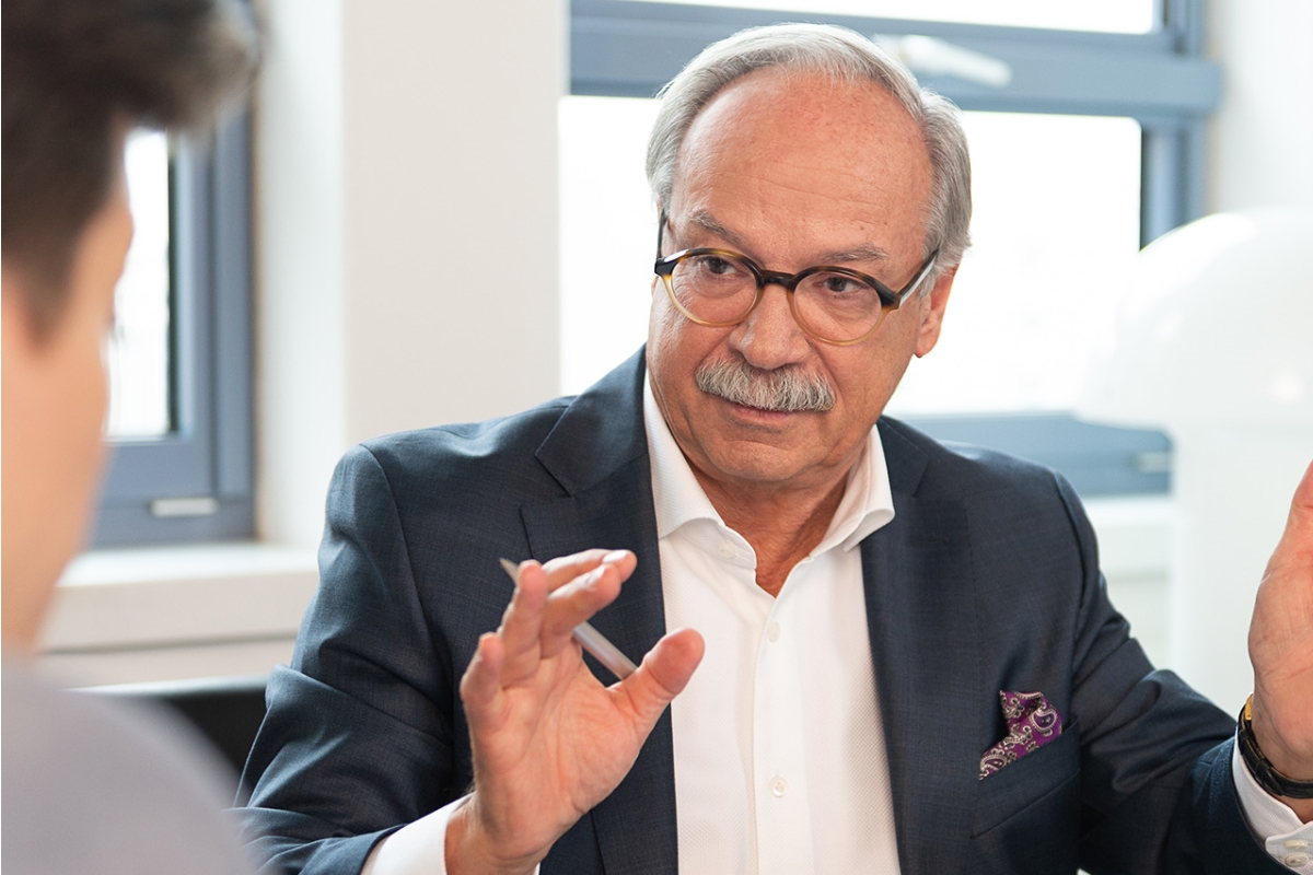 Dr. Uwe Böning im Gespräch