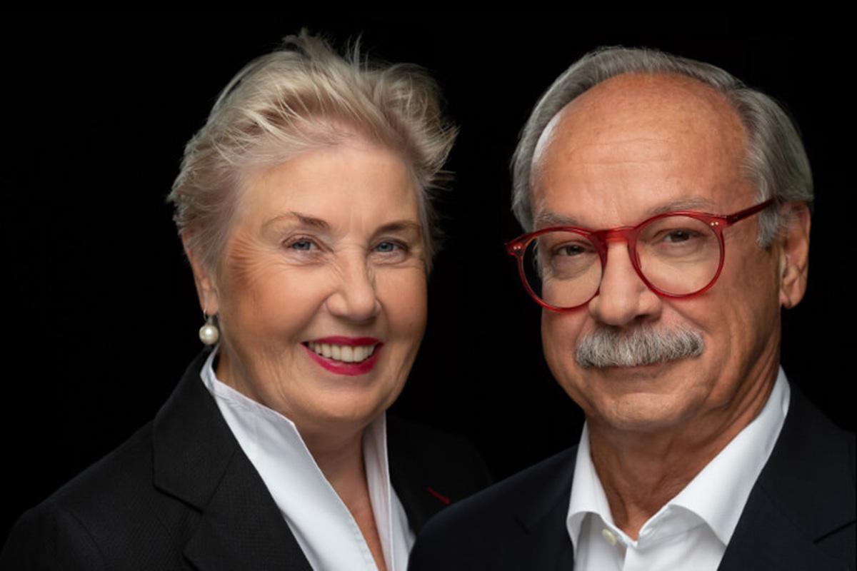 Dr. Uwe Böning und Brigitte Fritschle